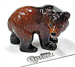 Little Critterz Lc110 Grizzly Bear 'yukon'