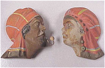 Mexican Miniature Wall Hanger Heads