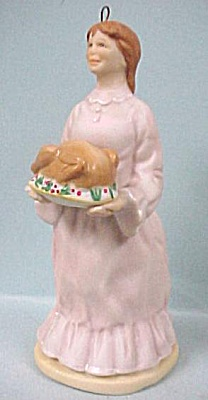 1991 Hallmark Porcelain Mrs. Cratchit