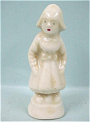 1920s Miniature Porcelain Dutch Girl (Image1)
