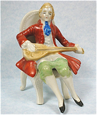 1940s/1950s Japan Ceramic Man On Chair