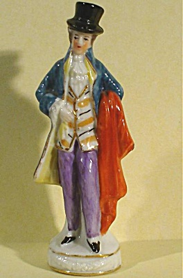 Ernst Bohne German Miniature Porcelain Man