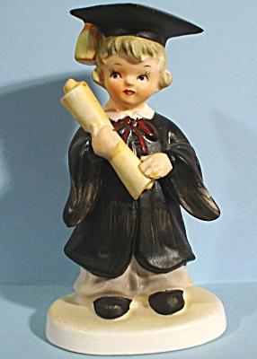Ceramic Graduate Girl (Image1)