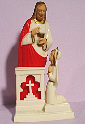 1950s Hartland Plastics First Communion Figure (Image1)