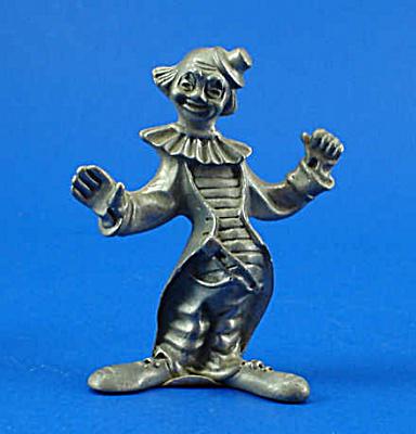 Pewter Miniature Clown (Image1)