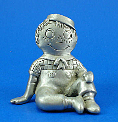 Pewter Miniature Raggedy Andy (Image1)