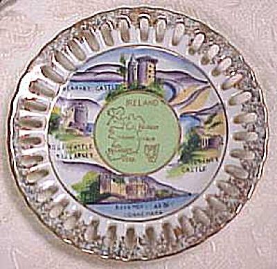 Small Ireland Souvenir Plate (Image1)