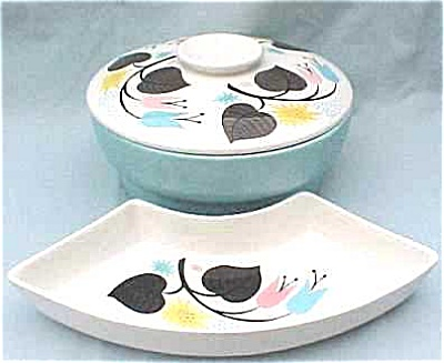 Lazy Susan Set With Covered Center Bowl (Image1)