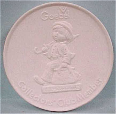 Goebel Collector's Club Plaque (Image1)