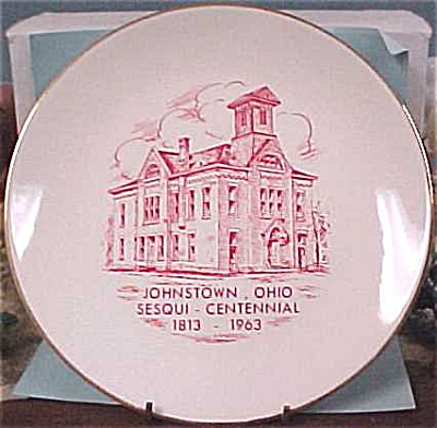 1963 Johnstown Ohio Plate (Image1)