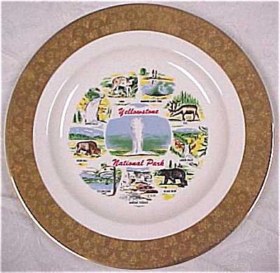 Yellowstone Souvenir Plate (Image1)