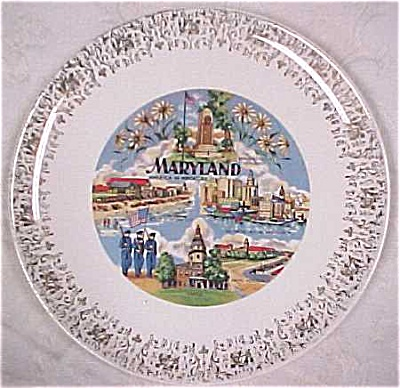 Maryland Souvenir Plate (Image1)