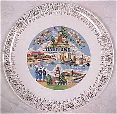 Maryland Souvenir Plate (Image1)