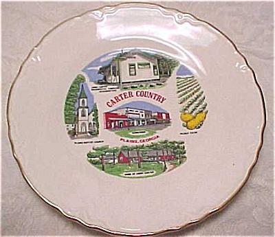 Plains Georgia Souvenir Plate (Image1)