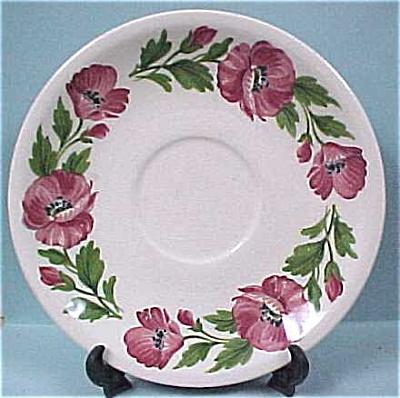 Paden City Pottery Shenandoah Ware Saucer (Image1)
