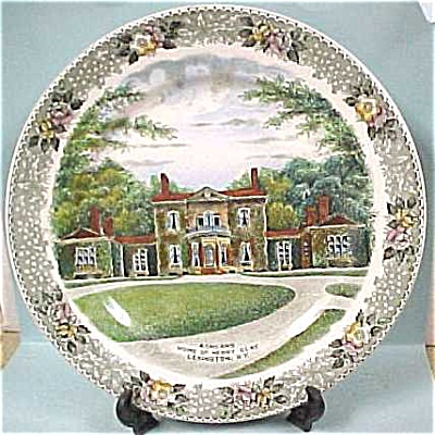 Ashland Plate, Henry Clay House in Lexington (Image1)