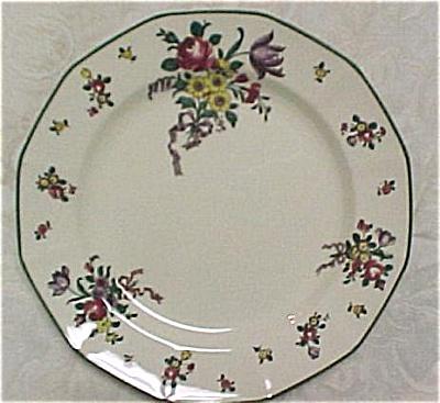 Royal Doulton Old Leeds Sprays Dinner Plate (Image1)