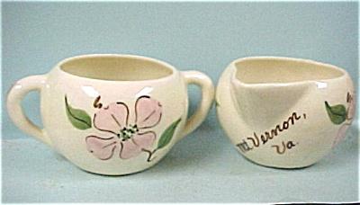 1950s Miniature Cream and Sugar Set (Image1)