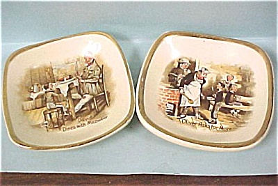 Arther Wood of England Dickens Miniature Plates (Image1)