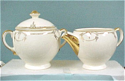 Salem China Symphony Cream & Sugar Set (Image1)
