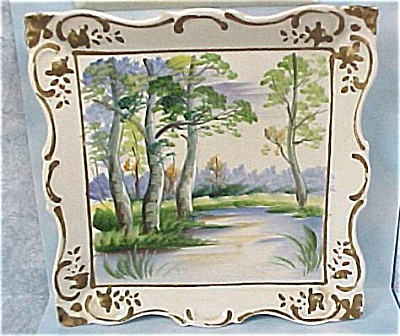 Lipper & Mann Japan Ceramic Wall Picture (Image1)
