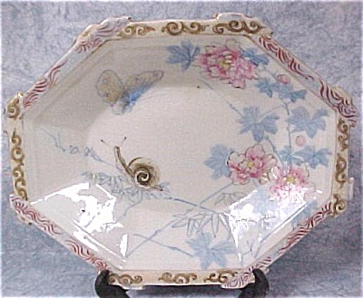 1920s/1930s Porcelain Hand Painted Dish (Image1)