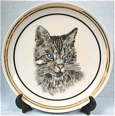 Miniature Cat Plate