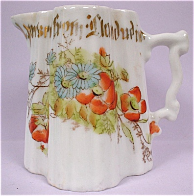 Bavarian 1920s Small Porcelain Pitcher (Image1)