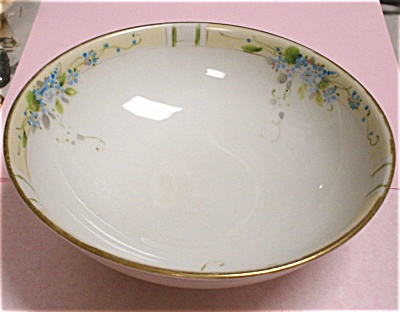 1910s/1920s Nippon Handpainted Serving Bowl (Image1)