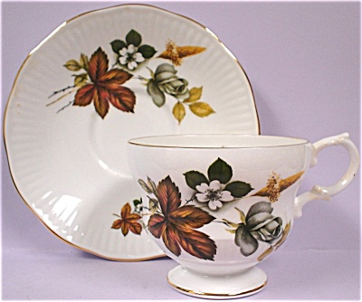 Rosina China Teacup and Saucer (Image1)