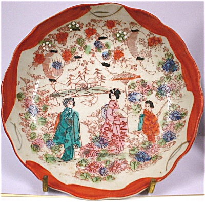 1930s-1950s Small Oriental Japan Plate