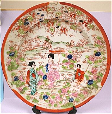 1930s-1950s Oriental Japan Plate (Image1)