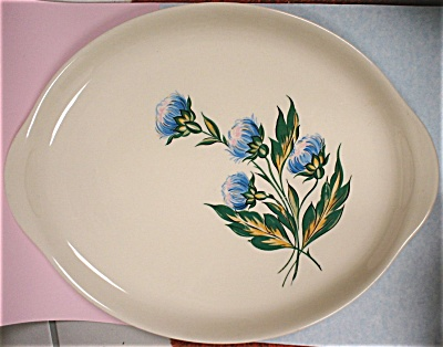 1940s/1950s Thistle Pattern Platter (Image1)