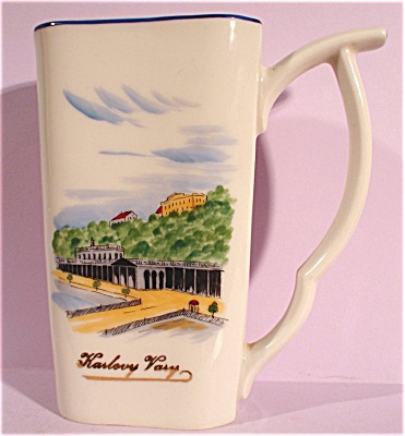 Handpainted Drinking Straw Handle Souvenir Mug (Image1)