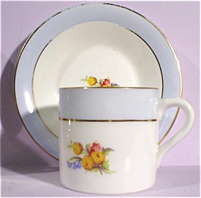 Rosina Bone China Miniature Cup and Saucer (Image1)