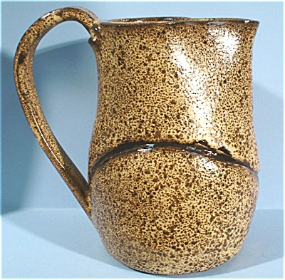 Hand Made Pottery Pitcher (Image1)