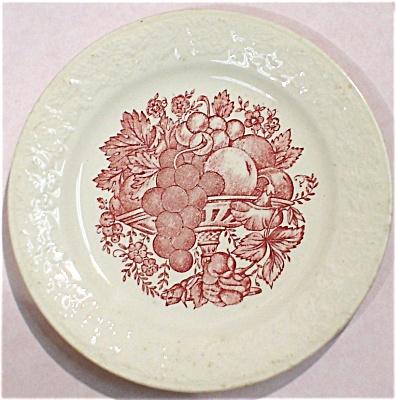 1942 Homer Laughlin Harvest Plate (Image1)