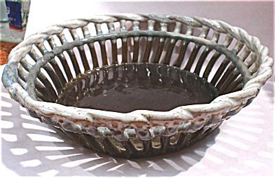Handmade Pottery Open Work Bowl (Image1)