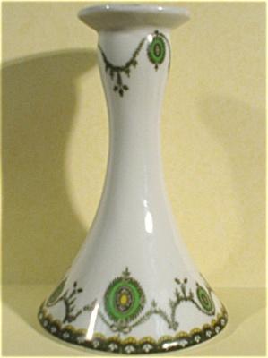 Victoria Porcelain Czechoslovakia Candle Holder (Image1)