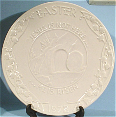 1972 Frankoma Oral Robert Easter Plaque