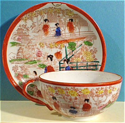 Japan Porcelain Cup and Saucer (Image1)