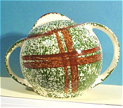 Blue Ridge Southern Pottery Sugar Bowl (Image1)