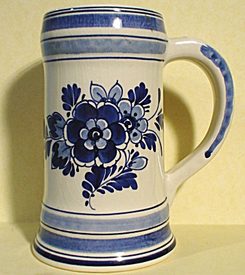 Delft Pottery Stein (Image1)