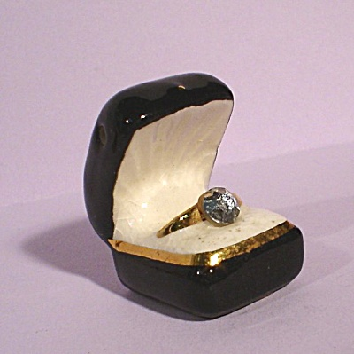 Arcadia Miniature Ring in Ring Box Salt Shaker (Image1)