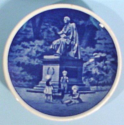 Copenhagen Miniature Plate, HC Anderson Kongens House (Image1)