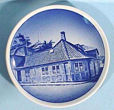Copenhagen Miniature Plate, HC Anderson's Hus Odense (Image1)