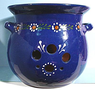 Redware Slip Painted Vase (Image1)