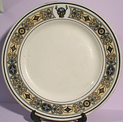 Elks Club Lamberton China Plate (Image1)
