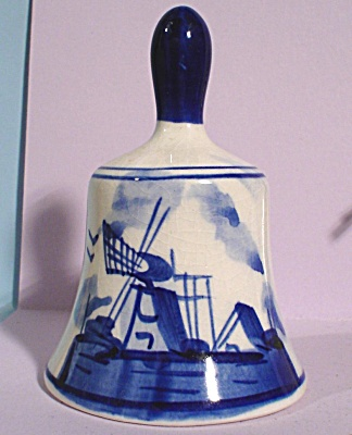 Delft Pottery Bell