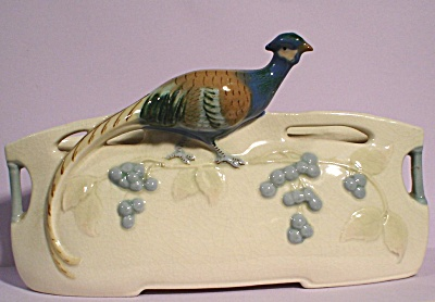 Beautiful Pheasant Vase